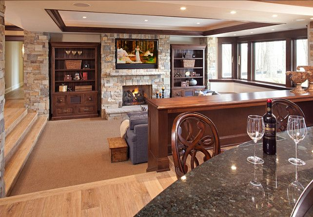 17 Best Ideas About Sunken Living Room On Pinterest