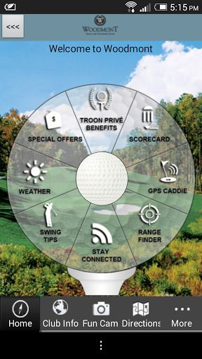 Do you enjoy playing golf at Woodmont Golf Club in Georgia?  The OFFICIAL Woodmont Golf Club app gives golfers a free, easy to use, interactive combination of comprehensive course information, GPS positioning, digital scorecard, augmented reality range finder, and various other useful club-specific features.<p>GPS Caddie<br>- Instantly view distances to the tee, front, back, and middle of the green, as well as par for each hole<br>- Interactive shot positioning: simply touch the shot target…