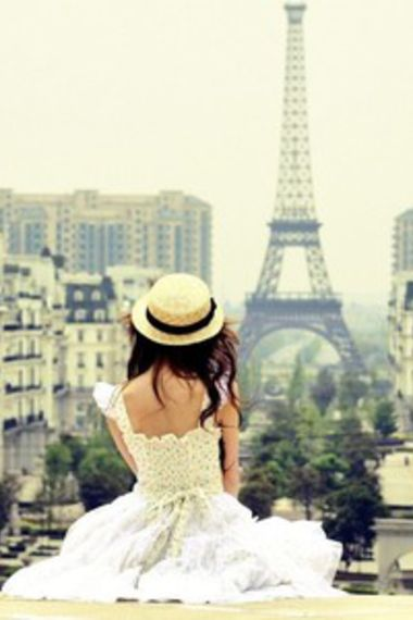 The location, the hat, the dress...