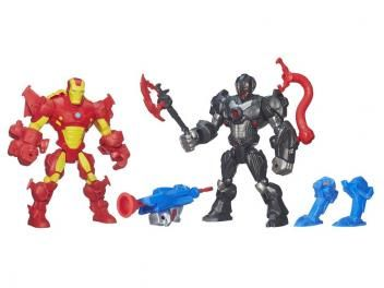 Marvel Super Hero Mashers - Sipder-Man vs Ultron - Hasbro