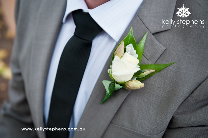 charcoal grey wedding suit