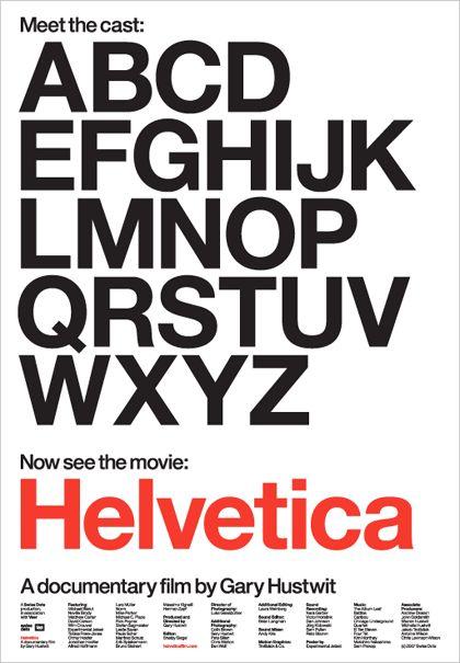 """Helvetica"" A documentary film by Gary Hustwit"