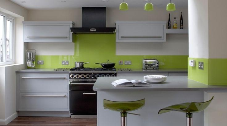 Envie d'une cuisine de look frais et naturel ? Pourquoi ne pas aménager une cuisine verte ? Couleur associée à la nature, le vert s'invite dans la cuisine.
