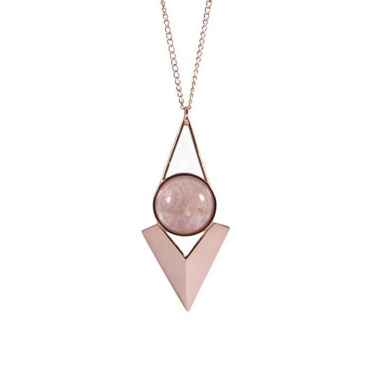 Rose gold necklace, Kirsty Maclaren