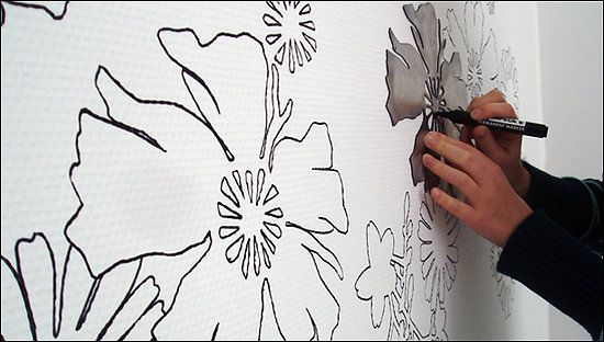 wall stencils for painting decorative | Stencils Designs For Wall Painting