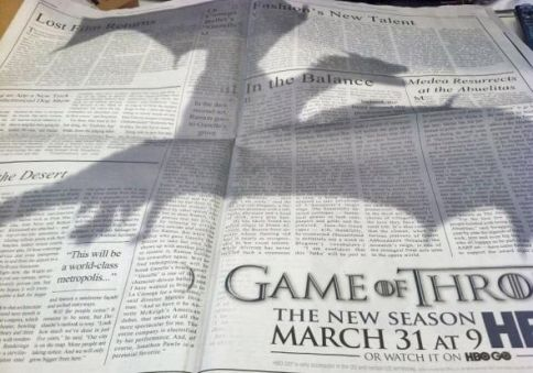 Game of Thrones Soars With Dragon Ad