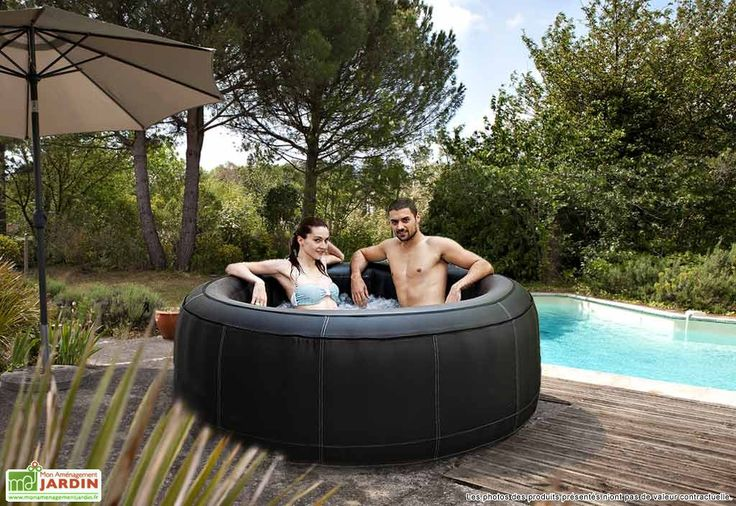 25 best ideas about jacuzzi gonflable on pinterest - Jacuzzi exterieur 4 places ...