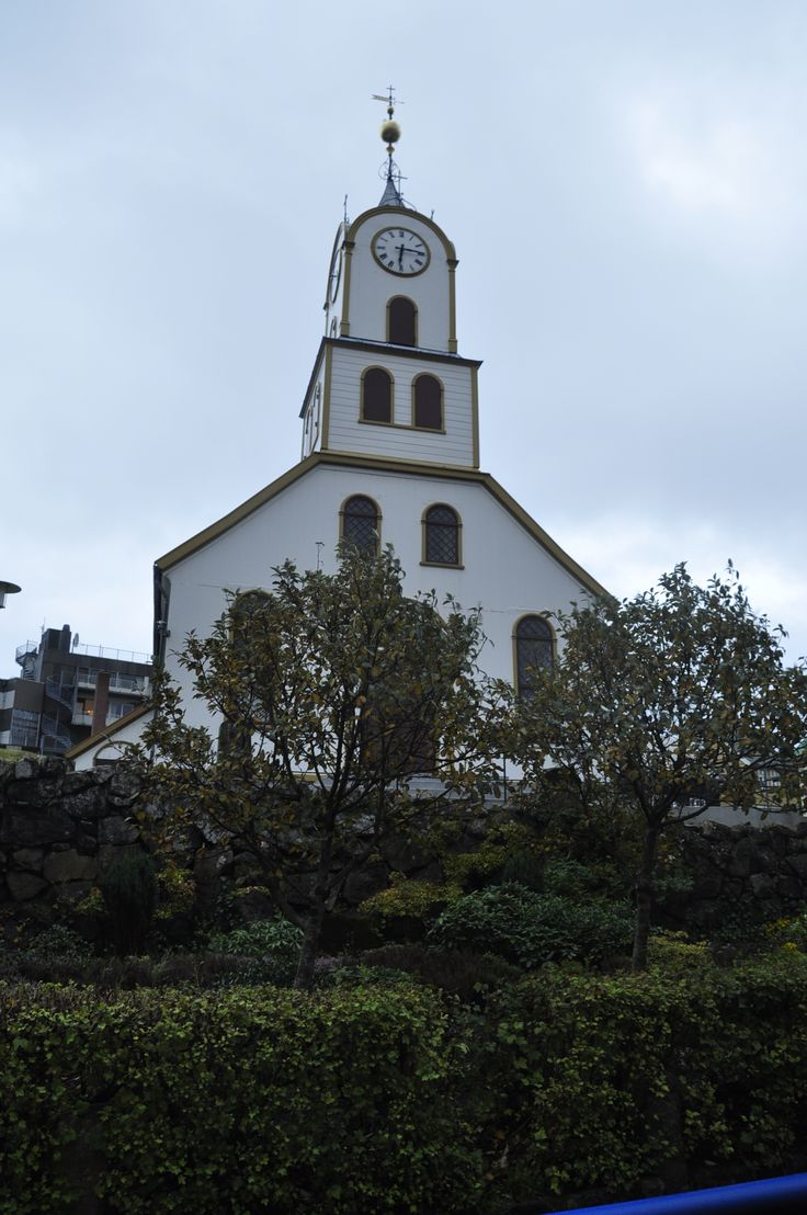 Tórshavn Cathedral, was first built in 1788 and partly rebuilt in 1865.