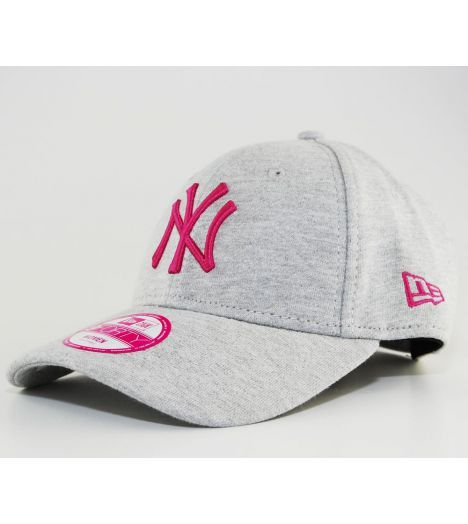 Casquette Femme NEW ERA Strapback NY Yankees Gris/Rose 9Forty