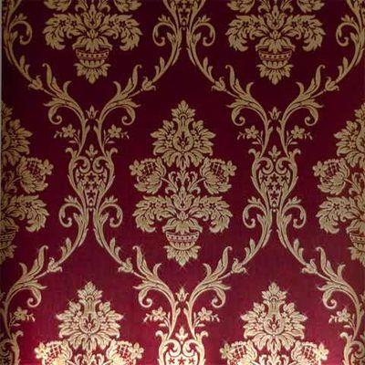 Red & Gold Damask Wallpaper Wallpaper Pinterest
