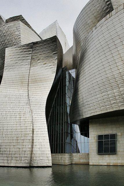 Bilbau, Guggenheim museum, 1997 Frank Gehry