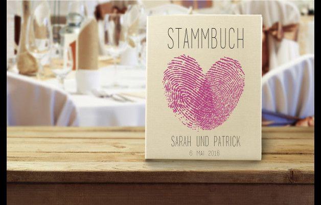 Hochzeitsalben - Stammbuch - ein Designerstück von Hochzeitideal bei DaWanda