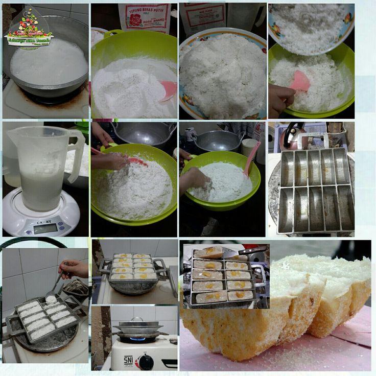 "Tutorial bikin kue ""PANCONG/RANGIN/BANDROS"""