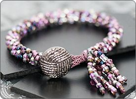 Buttoned Up Bracelet (Kumihimo) course in Calgary | Jewelry | Passions & Pastimes | Personal Development | Continuing Education | Chinook Learning Services