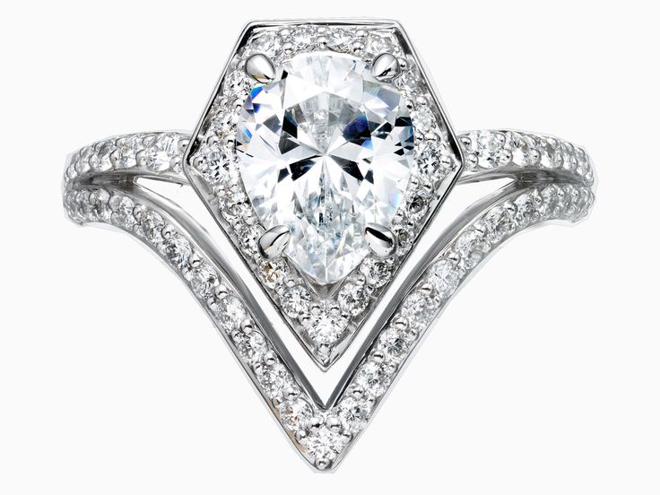 Karl Lagerfeld has designed a range of engagement rings  - HarpersBAZAAR.co.uk