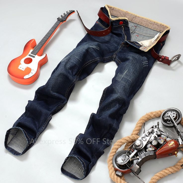 >> Click to Buy << 2016 New Men jeans autumn Spring casual jeans male long trousers straight cotton men's denim jeans for man Size 28-40 #Affiliate