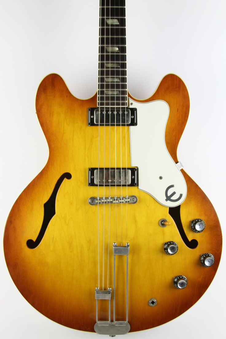 1965 Epiphone Riviera now in @ www.thunderroadguitars.com