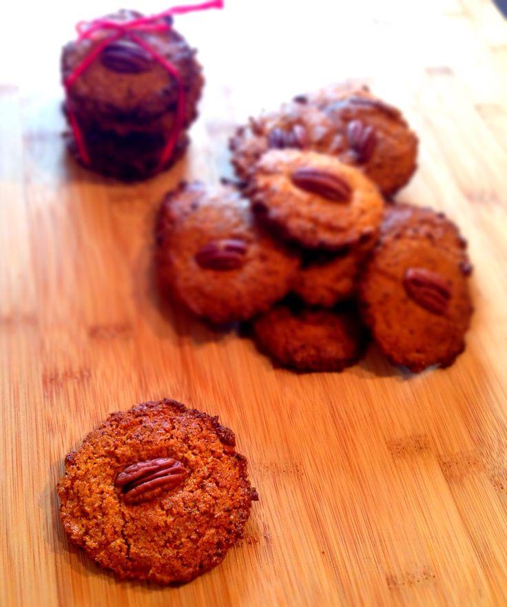 Biscotti Vegan alle Bacche di Goji e Noci Pecan
