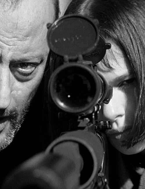 The Professional - Jean Reno & Natalie Portman.