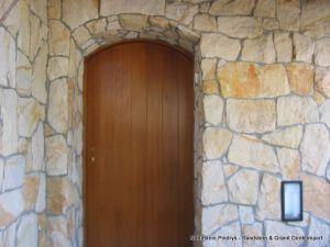 Sandstein Mauerverblender, Verblender