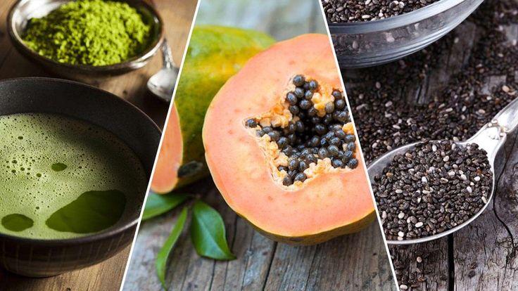 Lassen Sie sich jeden Morgen zehnfach überraschen. Heute: 10 Superfoods, die gesund sind und das Abnehmen unterstützen.