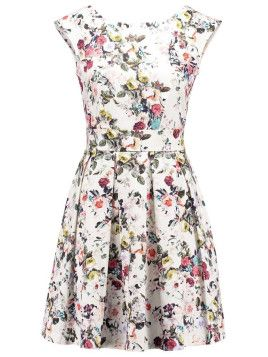 """Süße kurze Kleider mit Blümchenprints sind perfekt für den Sommer. Hier ein Modell von """"Closet""""."""