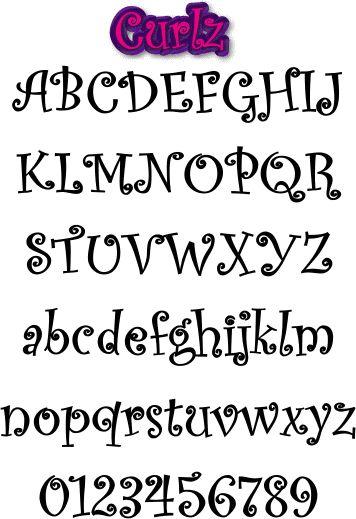 Letras bonitas para escribir