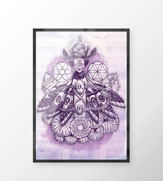 Crown Chakra  Witches of the Nine Worlds by LillaBolecz on Etsy