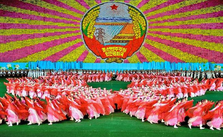 Ooh, Interesting! Fascinating Facts - The Arirang Festival in North Korea
