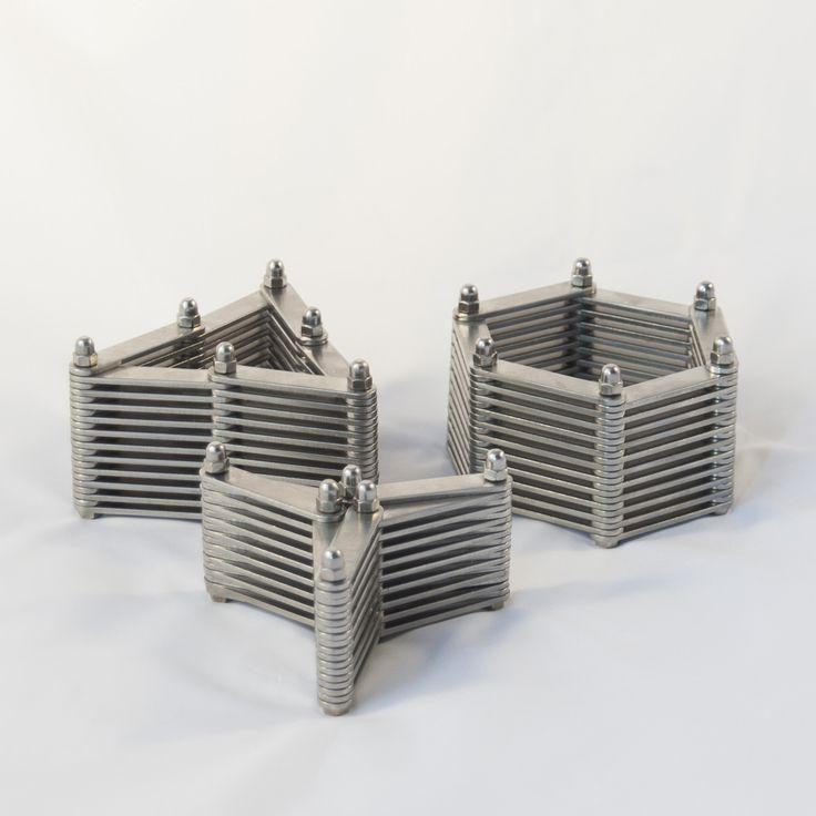 Candle holder 'Schakel' | For sale at Lebesque Design online shop