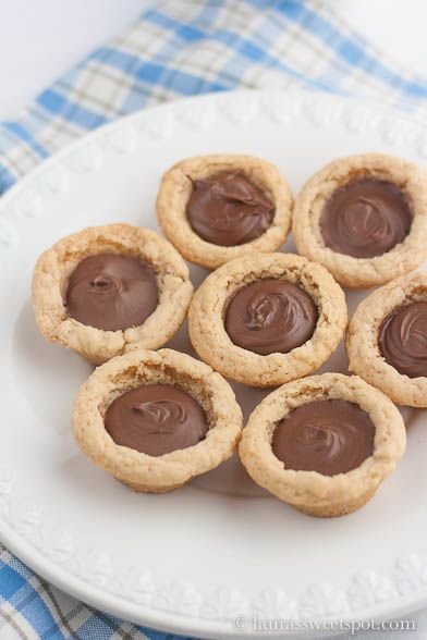 Nutella Cookie Cups Recipe on Yummly. @yummly #recipe