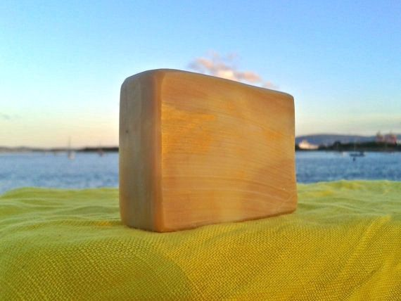 PRE-ORDER: Chamomile Shampoo Bar Yellow Clay by absoapstudio