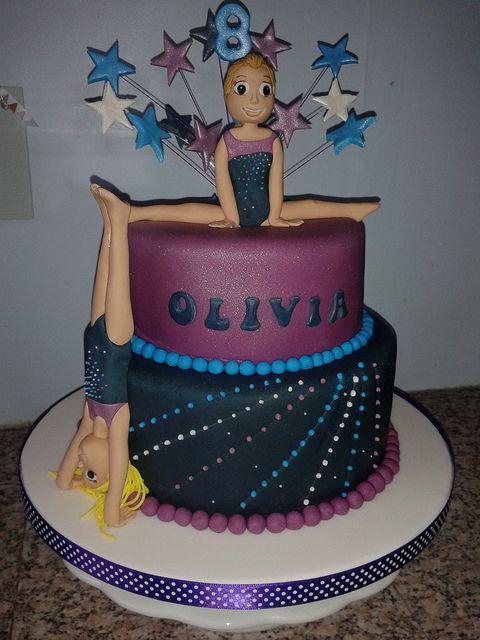 Gymnastics Cake - diferentes colores....