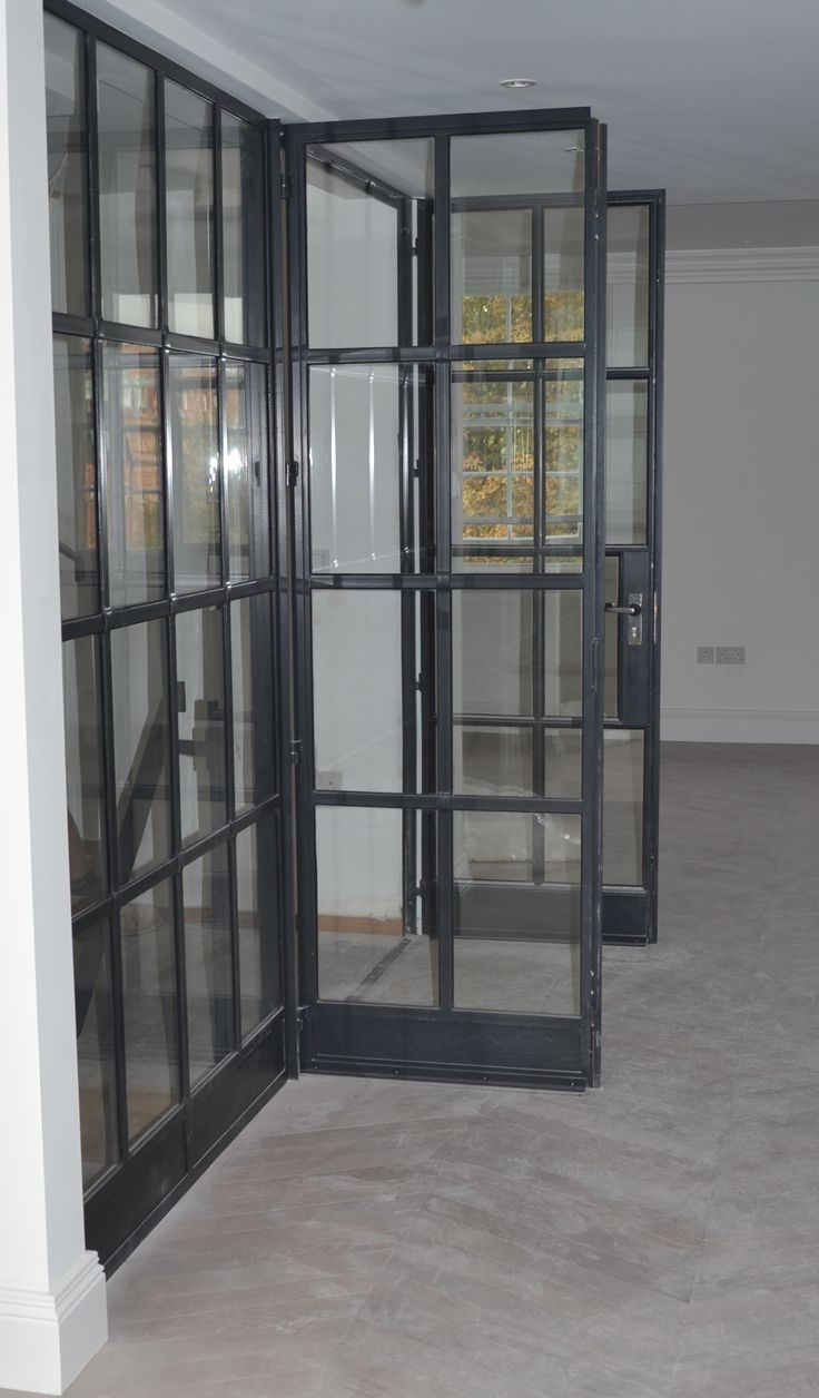Lightfoot Windows Kent Ltd Internal Crittall Door Screen