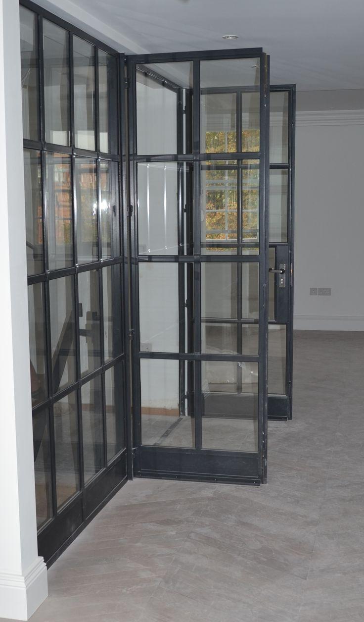 Lightfoot Windows Kent Ltd Internal Crittall Door Screen