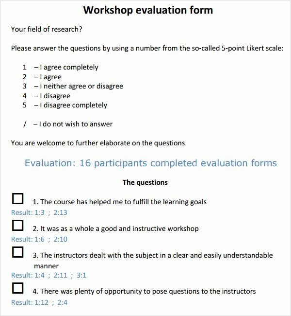 Workshop Event Seminar Feedback Form Coaching Tools From The
