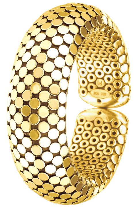 12 gold accessories to wear this summer season: John Hardy gold cuff
