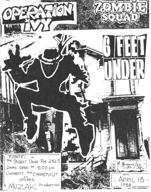 Operation Ivy @ University of Connecticut