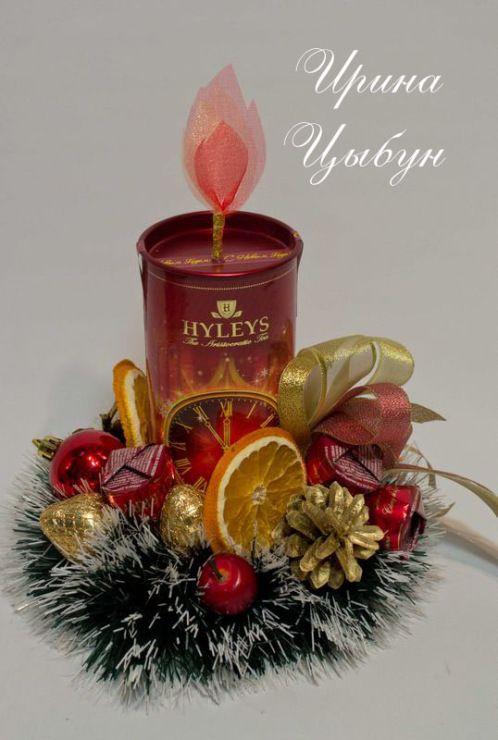 """Gallery.ru / Фото #2 - МК по оформлению новогодней """"свечи"""" - ytenok"""