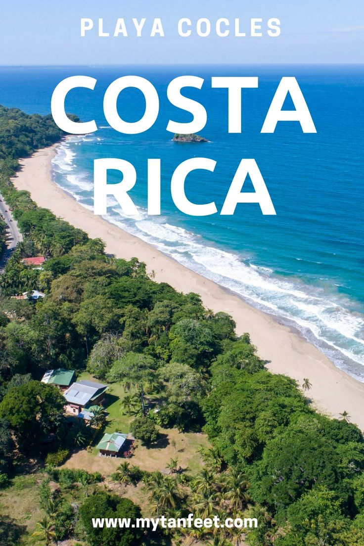 Playa Cocles is one of the most beautiful beaches in Costa Rica. Click through to read more about it: https://mytanfeet.com/costa-rica-beach-information/playa-cocles-puerto-viejo/    Costa Rica   Costa Rica travel tips   Costa Rica beaches