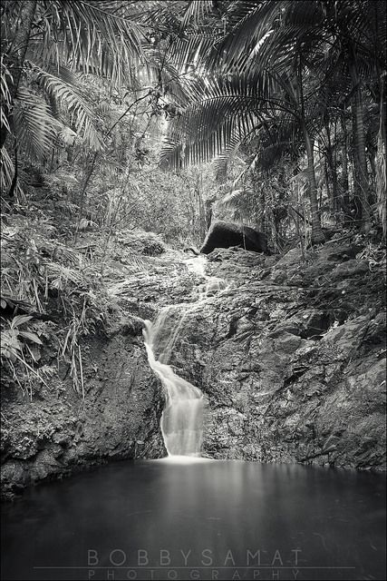 Waterfall in Puerto Rico