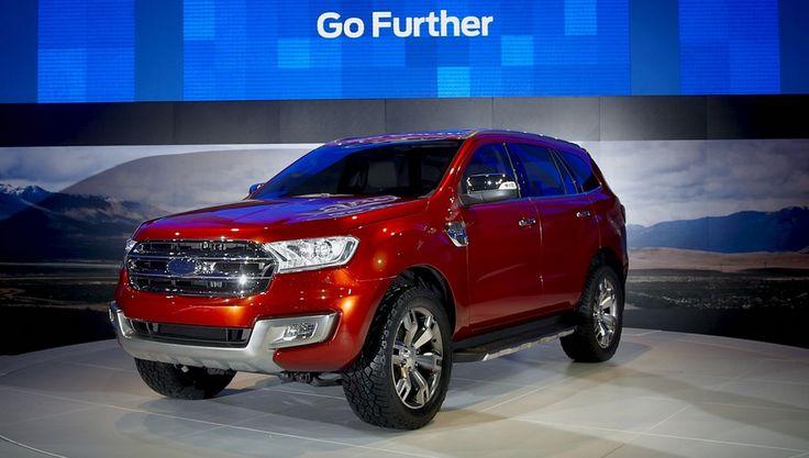 2014 Ford Everest – presented at Bangkok Motor Show