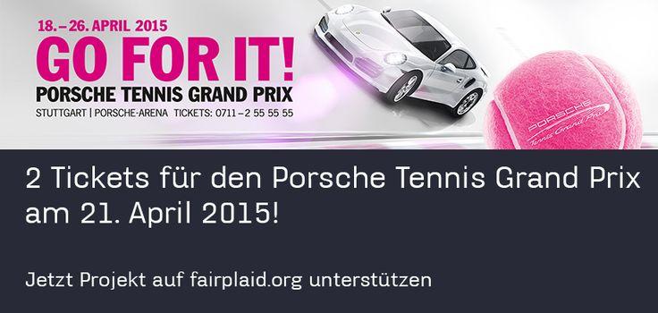 Porsche Tennis Grand Prix 2015 GO FOR IT! - ein Ticket gratis dazu für deine Begleitung https://www.fairplaid.org/Gutscheine/Gutschein-Detail/vid/141