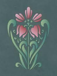 Image result for free downloadable art nouveau stencils