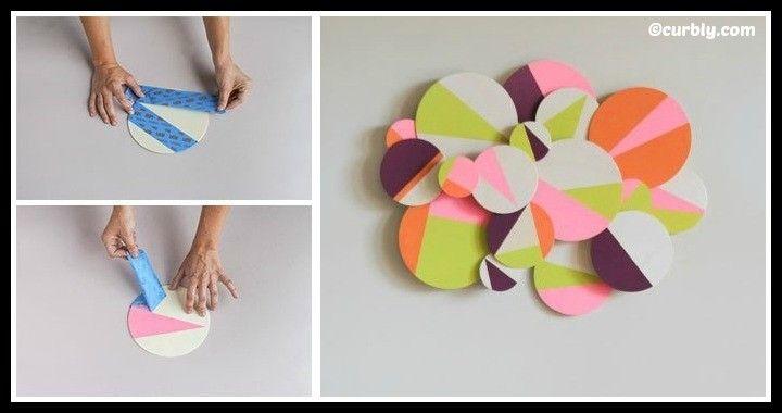 DIY 3D Geometric Wall Art Tutorial