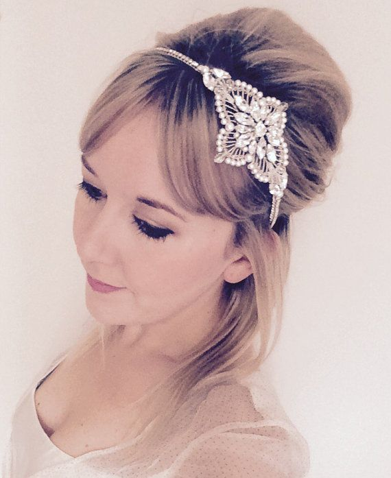 35 Wedding Hairstyles Discover Next Year S Top Trends For: 25+ Best Ideas About Crystal Headband On Pinterest