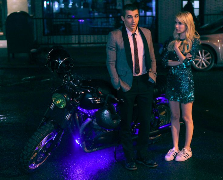 """Tune in live on AOL.tumblr.com for our Kanvas live-stream of AOL BUILD's talk with Emma Roberts and Dave Franco on July 12th at 12 PM ET for their newest film """"Nerve."""""""
