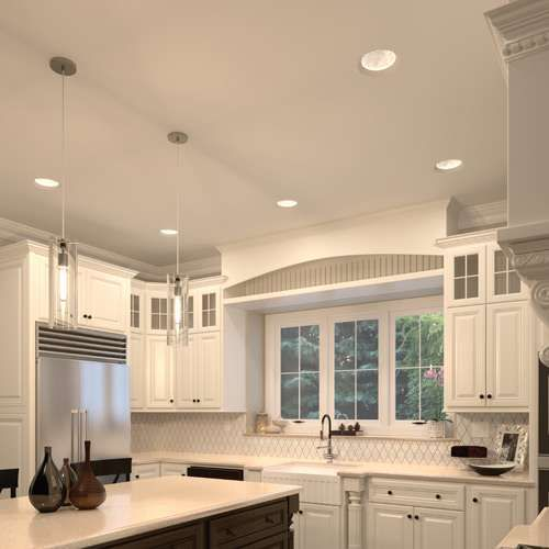 Element by tech lighting element reflections fleur 8 inch dome trim led recessed lightingindirect lightingkitchen