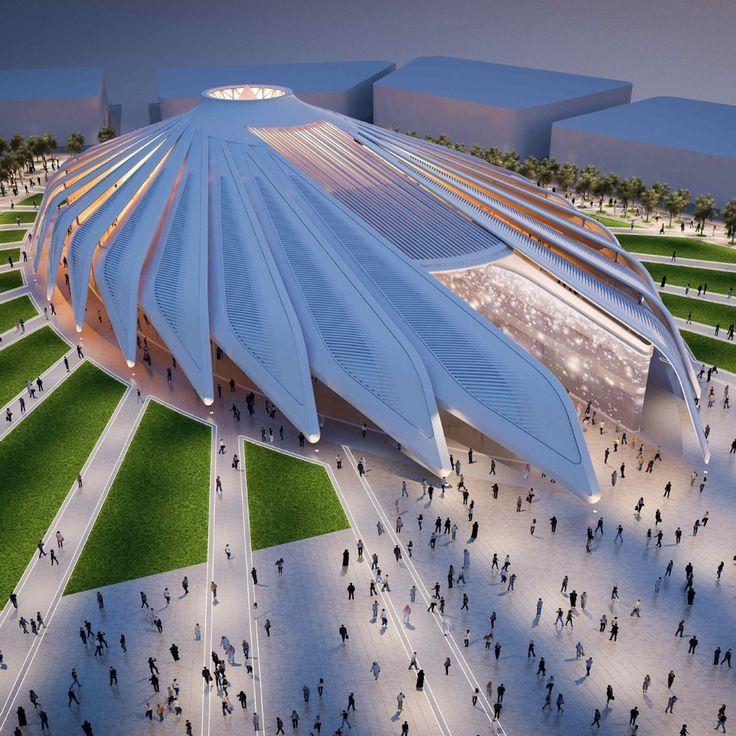 Dubai architecture & Dynamic Tower : Santiago Calatrava selected to design UAE Pavilion for Dubai Expo 2020