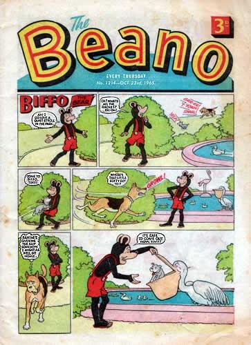 The Beano comic (60s)